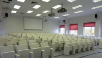 One of our most beautiful projects - conference room of MBA students in Timiryazev Academy