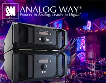 Тест-драйв Analog Way Aquilon RS4 в Москве